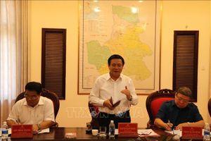 Tiểu ban Văn kiện Đại hội XIII làm việc tại tỉnh Đắk Nông