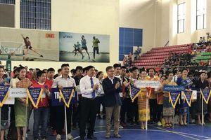 Khai mạc Đại hội thể thao lưu học sinh Lào tại Hà Nội