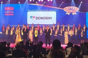 Dongsim Việt Nam vinh dự nhận giải thưởng rồng vàng 2019