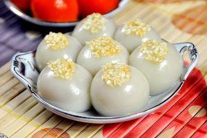 Bánh trôi, bánh chay - nét đẹp văn hóa Tết Hàn thực Việt