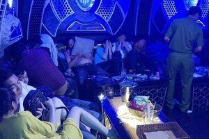 Đột kích quán karaoke tại Cà Mau, phát hiện gần 100 người dương tính với ma túy