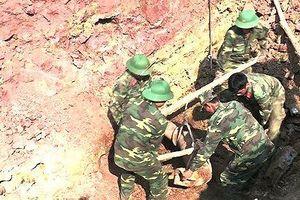 Quảng Trị: Phát hiện quả bom nặng hơn 2 tạ trong trường học