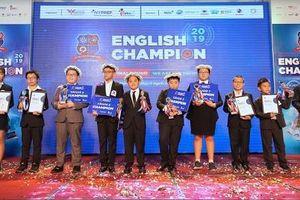5 quán quân được vinh danh tại chung kết English Champion 2019