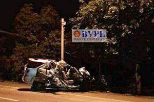 Tai nạn thảm khốc lúc nửa đêm ở Đồng Nai, xe 7 chỗ nát bươm, 3 người chết thảm