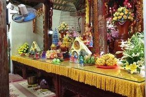 Ngôi chùa cổ không nhận tiền công đức