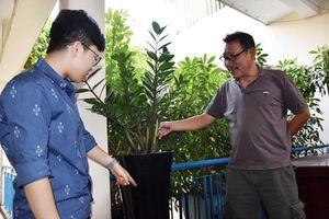 Đắk Lắk: Sáng chế thùng trồng cây không cần tưới, bán sang Tây