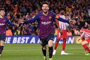 Đè bẹp Atletico, Barcelona 'chạm 1 tay' vào chức vô địch