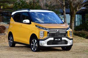 Mitsubishi eK Wagon và eK X được bán tại Nhật Bản