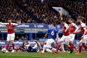 Gục ngã trước Everton, Arsenal dậm chân ở vị trí thứ 4 Premier League