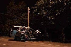 Xe tải đối đầu xe khách trong đêm ở Đồng Nai, 5 người thương vong