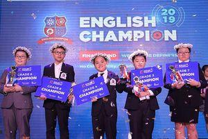5 thí sinh giành Quán quân cuộc thi English Champion 2019
