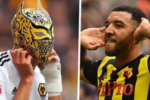 Cầu thủ Wolverhampton nhận kết buồn sau pha ăn mừng đeo mặt nạ