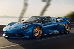 Siêu xe điện 1.900 mã lực Pininfarina Battista ra mắt