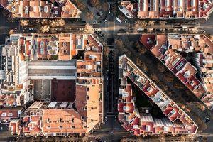 Những ngôi nhà Barcelona độc đáo nhìn từ trên cao