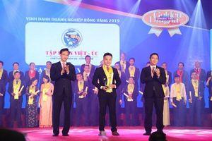 Tập đoàn Việt – Úc vinh dự nhận giải thưởng Rồng Vàng 2019