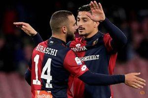 Napoli giành điểm trước Genoa, Juventus chưa thể ăn mừng chức vô địch sớm