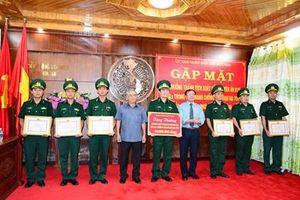 Kon Tum: Trao thưởng cho lực lượng biên phòng phá hai chuyên án ma túy