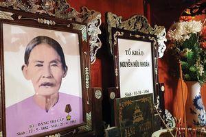 Người mẹ cách mạng của Trung tướng Đồng Sỹ Nguyên