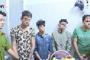 Bắt 4 đối tượng, thu gần 6kg ma túy đá ở Sơn La