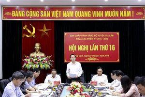 Huyện Gia Lâm: kinh tế tăng trưởng khá trong quý I/2019
