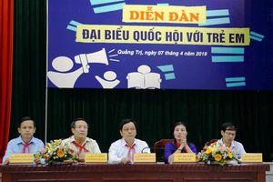 Tăng cường sự tham gia của trẻ em vào quá trình hoạch định chính sách