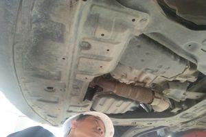 Nissan Việt Nam kết luận hiện tượng dầu loang là bình thường