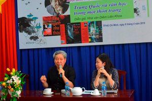 Nhà văn Diêm Liên Khoa đến Việt Nam trò chuyện về văn học Trung Quốc đương đại