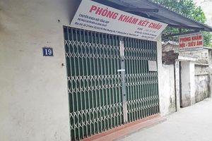 Thu hồi giấy phép hoạt động của Phòng khám Kết Châu