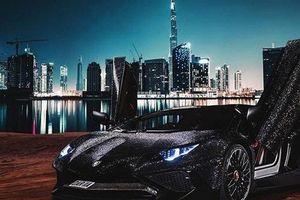 Choáng với hai triệu viên pha lê 'oanh tạc' chiếc Lamborghini Aventador SV