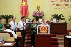 Hà Nội bầu bổ sung 4 chức danh Trưởng, Phó ban HĐND TP