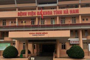 Tạm giam 5 cán bộ, nhân viên BVĐK tỉnh Hà Nam vì lạm quyền