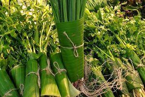 Saigon Co.op bọc thực phẩm bằng lá chuối sạch
