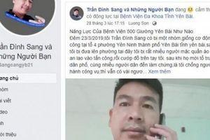 NÓNG: Công an vây bắt 'thánh chửi' Trần Đình Sang