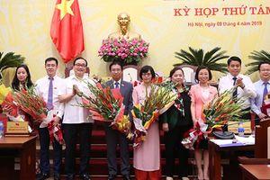 Hà Nội vừa bầu bổ sung hàng loạt lãnh đạo Trưởng, Phó ban HĐND