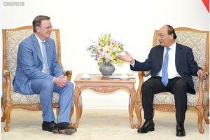 Thủ tướng Nguyễn Xuân Phúc tiếp Thủ hiến bang Thuringen, Đức