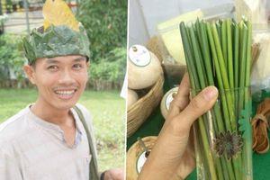 Báo quốc tế ca ngợi người đàn ông Việt Nam sản xuất ống hút từ cỏ