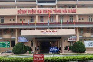 Phá 'đường dây' thu tiền chui của 5 bác sĩ, nhân viên y tế Bệnh viện Đa khoa tỉnh Hà Nam
