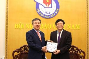 Hội Nhà báo Việt Nam và Hội Nhà báo Hàn Quốc tăng cường quan hệ hợp tác
