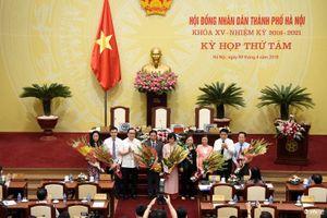 HĐND TP Hà Nội bầu bổ sung chức danh các phòng ban chuyên trách