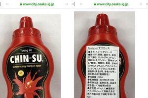 Hóa chất có trong 18.000 chai tương ớt Chinsu bị thu hồi có nguy hiểm không?