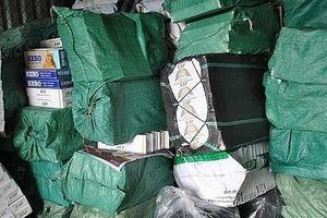 Hải quan Quảng Trị thu giữ hơn 10.230 bao thuốc lá ngoại