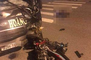 Đối đầu xe tải, nam thanh niên tử vong tại chỗ