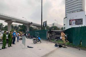 Hà Nội: Tai nạn liên hoàn, nhiều người bị thương