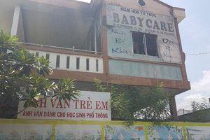 Sơ tán khẩn cấp hơn 100 trẻ khi phát hiện lửa bốc lên từ trường mầm non