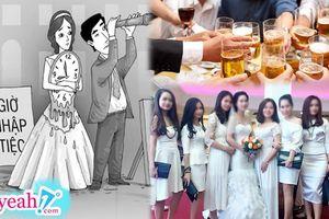 Tranh cãi văn hóa đi đám cưới: Cứ phải mặc 'lồng lộn' hơn cô dâu, giờ cao su và uống bia rượu mất kiểm soát