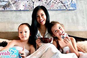 Chồng cũ tái hôn, Diva Hồng Nhung tự mình tổ chức sinh nhật cho 2 con, nghẹn ngào 'Các con 7 tuổi, mẹ dựa vào các con'