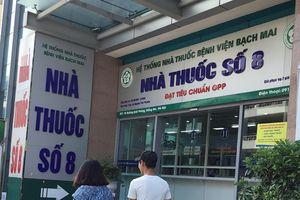 Nhà thuốc số 8 của BV Bạch Mai bị tố bán thuốc rởm: Bệnh viện nói gì?