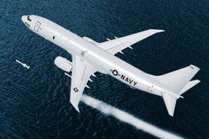 'Thần biển' P-8A Mỹ quần đảo canh xác F-35A Nhật Bản vừa bị rơi