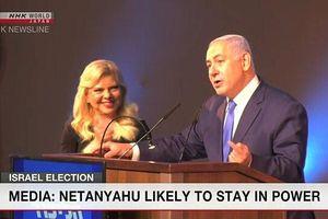 Thủ tướng Israel Netanyahu có khả năng tiếp tục tại vị