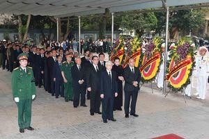Lãnh đạo Đảng, Nhà nước, MTTQ viếng Trung tướng Đồng Sỹ Nguyên